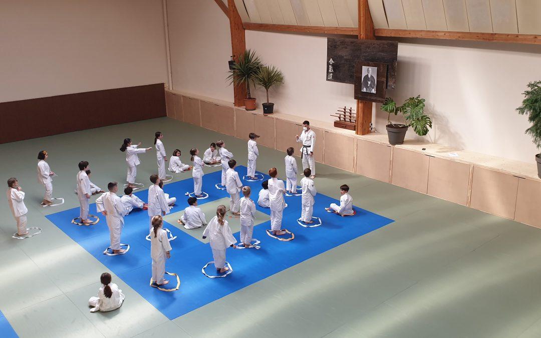 Cours de Judo pour les CM1 CM2